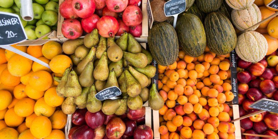 Fruits les moins caloriques