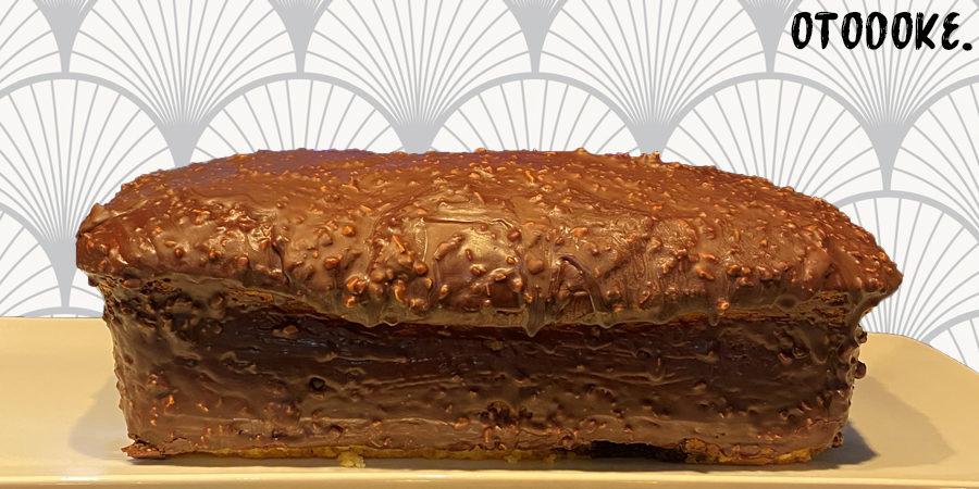 Recette cake marbré glaçage rocher