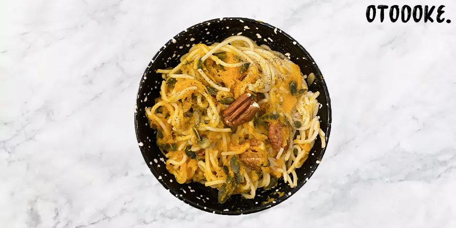 recette spaghettis potiron