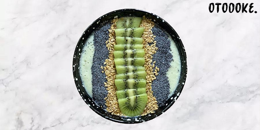 recette smoothie bowl kiwi pomme banane