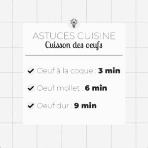 cuisson oeufs