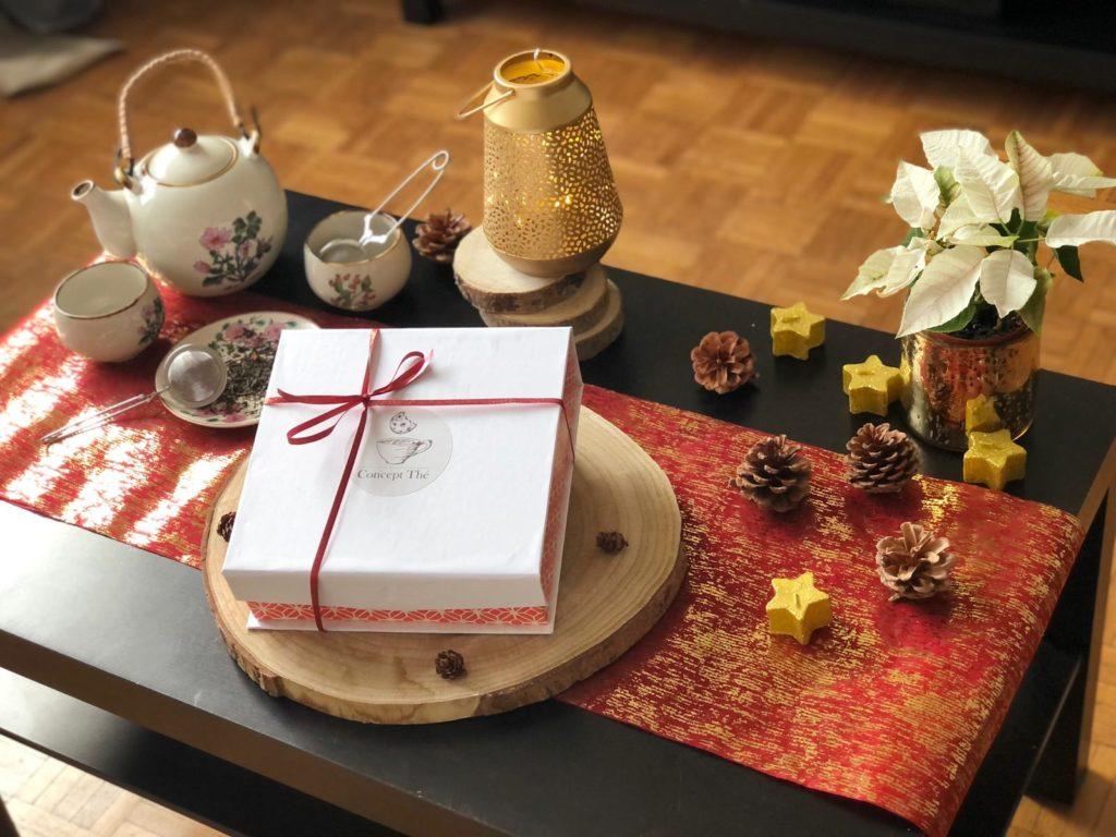 concept thé box