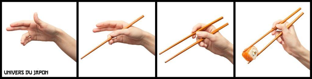 comment utiliser baguettes japonaises