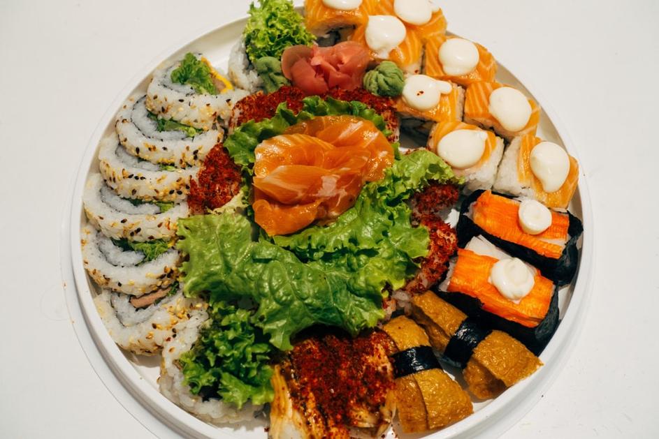 plats japonais présentation